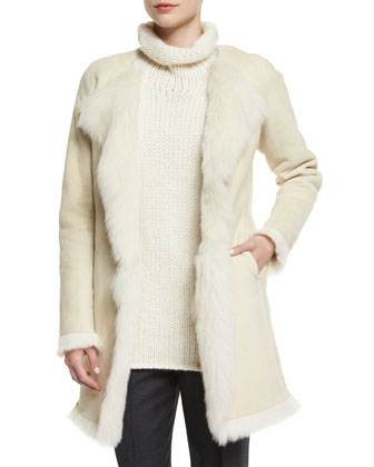 Jathan Hollice Fur-Lined Jacket