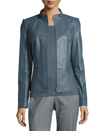 Ambella Lambskin Leather Jacket