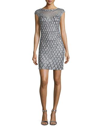 Montclair Sequined Cocktail Dress