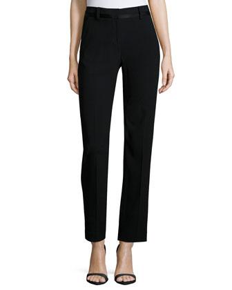 Pants W/ Shiny Tuxedo Trim