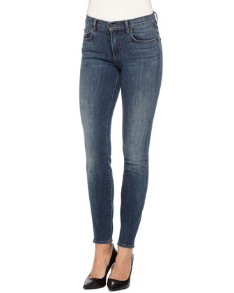 PS-J5 Ultra-Skinny Jeans, Worn Indigo