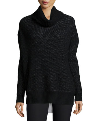 Alizon Honeycomb-Stitch Sweater