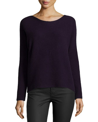 Kerenza Soft-Drape Ribbed Sweater