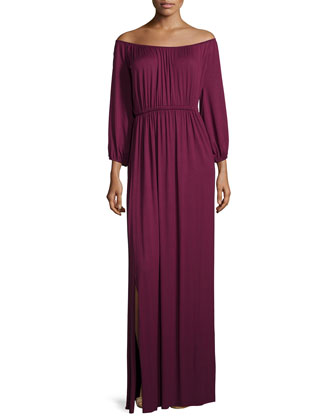 Freya Off-the-Shoulder Maxi Dress, Women's