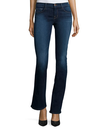 8119 Boot-Cut Jeans, Starlight