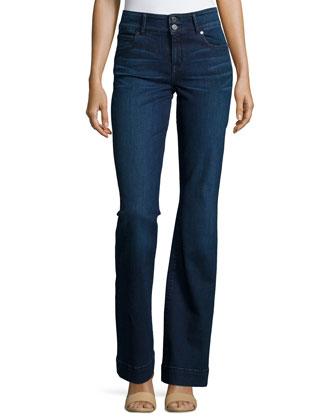 Foundation High-Waist Flare Jeans, Phyllis