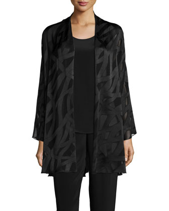 Sheer Drama Easy Cardigan, Women's