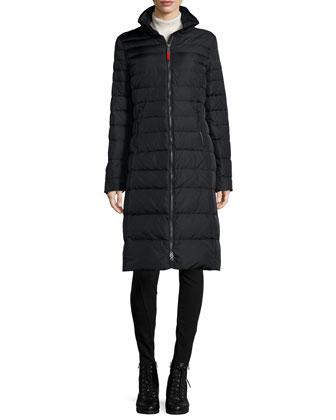 Nilla Long Down Puffer Coat