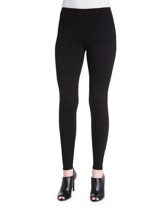 Stretch Fleece Leggings, Women's