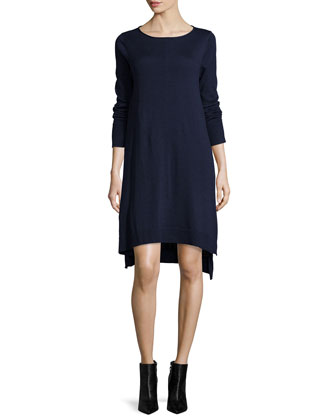 Merino Jersey Layering Dress, Women's