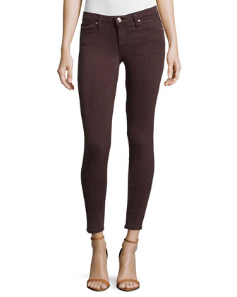 The Vixen Mid-Rise Skinny Ankle Jeans