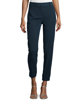 High-Waist Skinny Pants, Vulcan