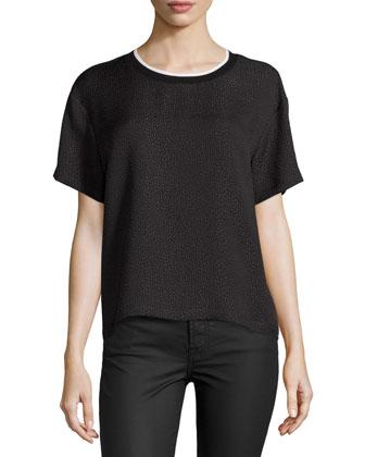 Ethan Short-Sleeve T-Shirt, Black