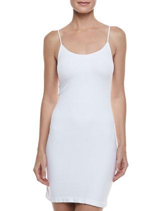 Formfitting Camisole Slip, White