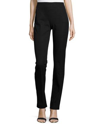 Rae Slim Zip-Pocket Pants