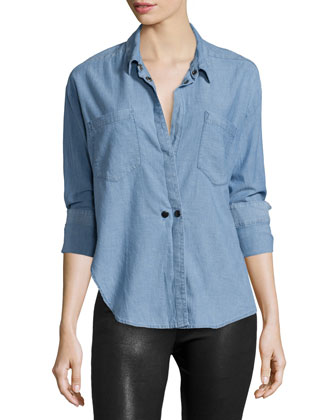 Hideaway Chambray Shirt, Getty