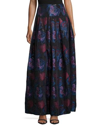 Hanabi Floral Ball Skirt