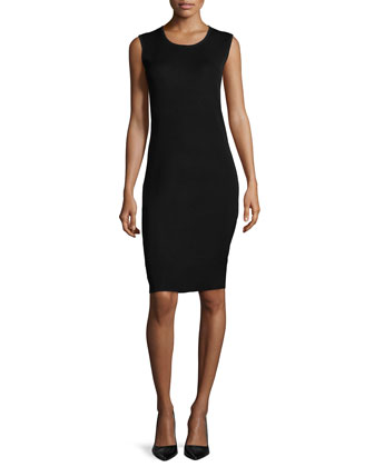 Sleeveless Body-Conscious Dress, Women's