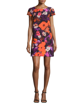 Chloe Floral-Print Dress