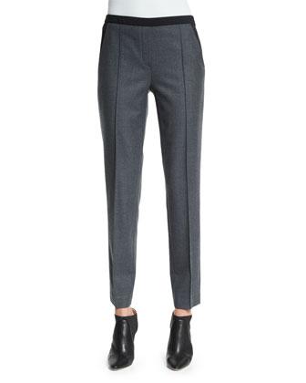 Karis Stretch Flannel Slim Pants