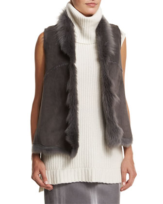 Piper Lamb Shearling Fur Vest
