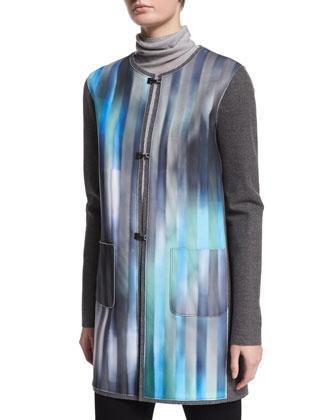 Melody Reversible Wool-Blend Jacket
