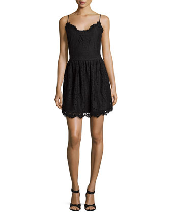 Hudette B Lace Dress
