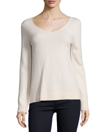 Modern Cashmere V-Neck Sweater