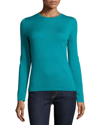 Cashmere Modern Crewneck Sweater