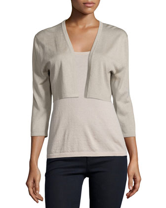 Modern Superfine Cashmere Shrug