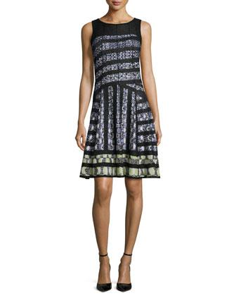 4-Way Linen-Blend Knit Cardigan, Women's