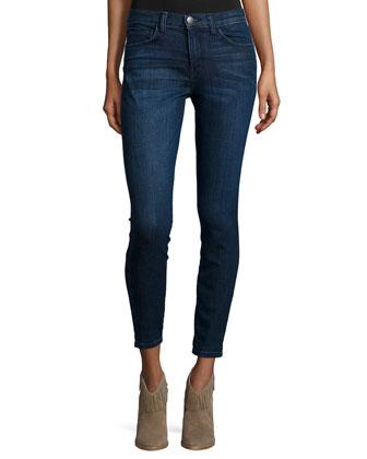 The Oversized Long-Sleeve Cardigan & The Highwaist Stiletto Jeans