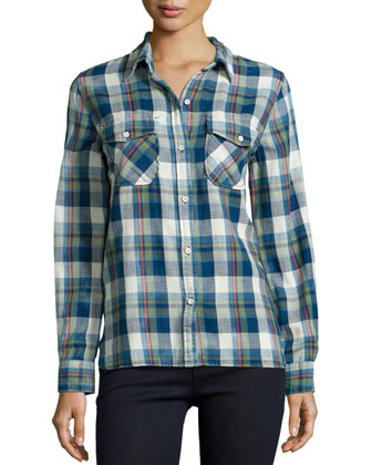 The Perfect Plaid Shirt, Dixie Plaid