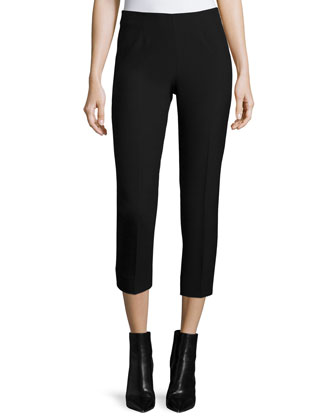 Four-Way Stretch Crepe Pants