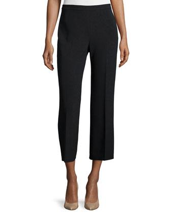 Visterna B. Belted Vest & Laleenka Straight-Leg Culottes