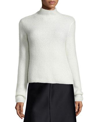 Sisel Nimbus Ribbed Cashmere Sweater
