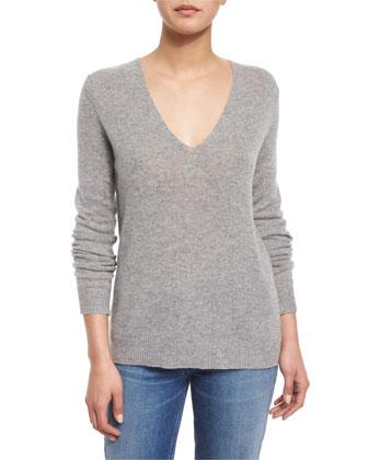 Adrianna R. Cashmere Sweater & Hannon B. Cropped Splendor Pants