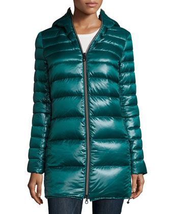 Calimon Down Coat W/ Zip-Off-Sleeves