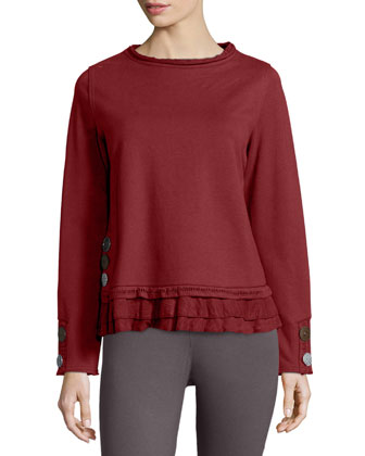 Seaside Cape Pullover Top