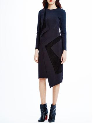 Lark Paneled Asymmetric Dress