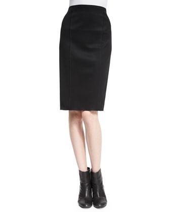 Samantha High-Waist Skirt, Black