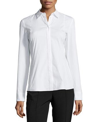 Cera Long-Sleeve Blouse, Women's