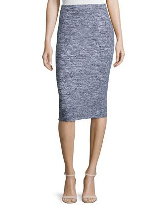 Nellida Marled Knit Skirt