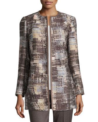 Pria Open-Front Coat, Women's