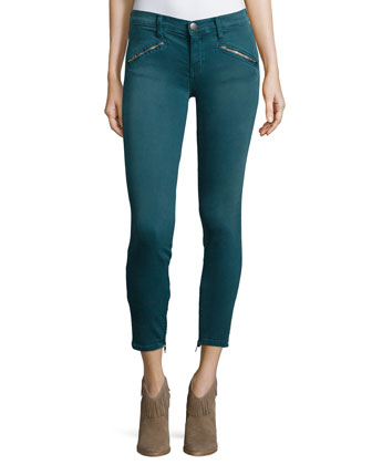 The Silverlake Cropped Jeans, Sycamore