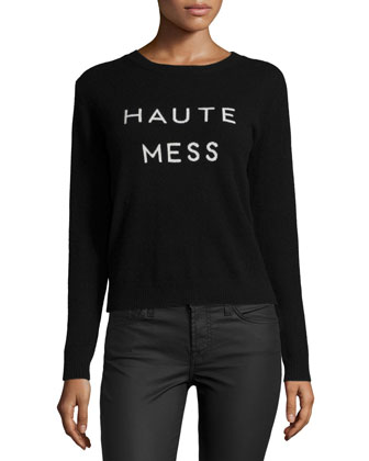 Haute Mess Cashmere Sweater