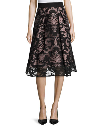 Katie Fil Coupe Skirt