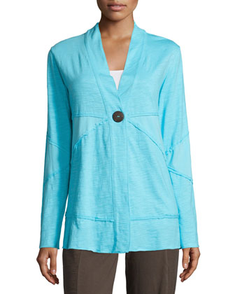 Forever Jacket with Coconut Buttons