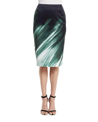 Printed Modern Slim Skirt