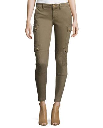 Denim Safari Cargo Pants
